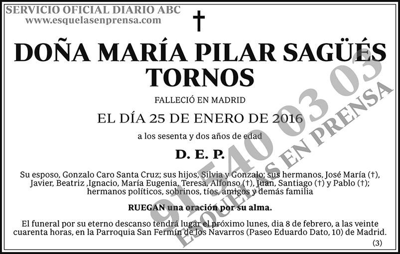 María Pilar Sagüés Tornos